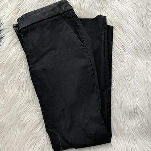 The Limited exact stretch leather detail pants